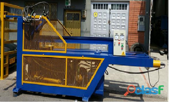 Fabricación de Maquinaria para Reciclaje de Llantas Usadas y Plásticos. 5