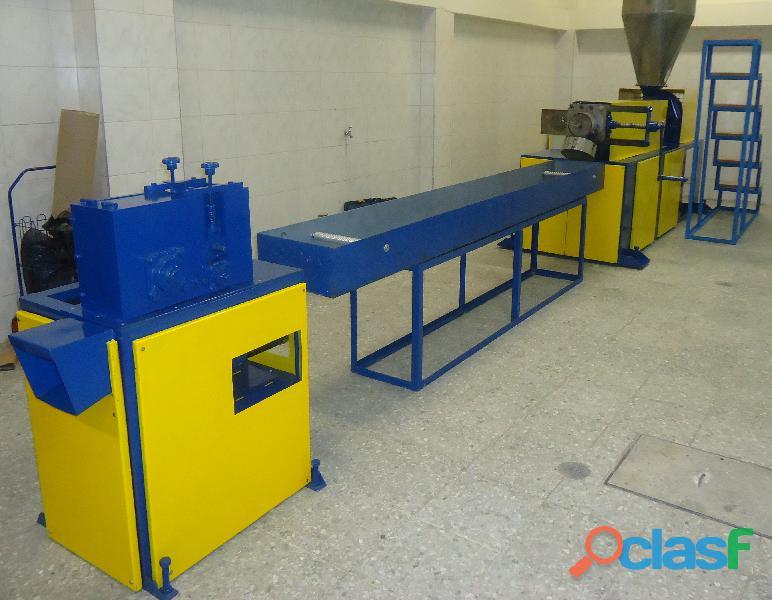 Fabricación de Maquinaria para Reciclaje de Llantas Usadas y Plásticos. 9