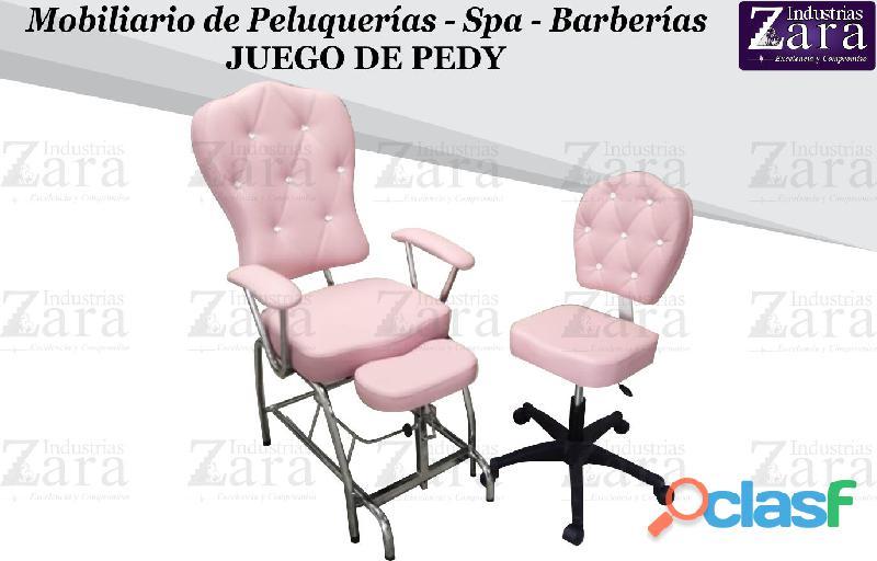 129 agradables silla de manicure, camilla masajes, tocador camerino.