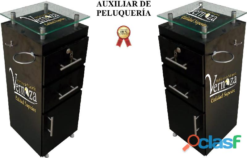 399 LUJOSO ESMALTERO, AUXILAR DE PELUQUERIA, SALA DE ESPERA, ESMALTERO, SILLA DE MANICURE, TOCADOR.