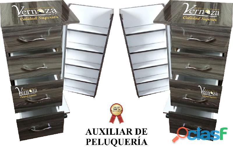 402 SUTIL SALA DE ESPERA, ESMALTERO, AUXILAR DE PELUQUERIA, ESMALTERO, SILLA DE MANICURE, TOCADOR.