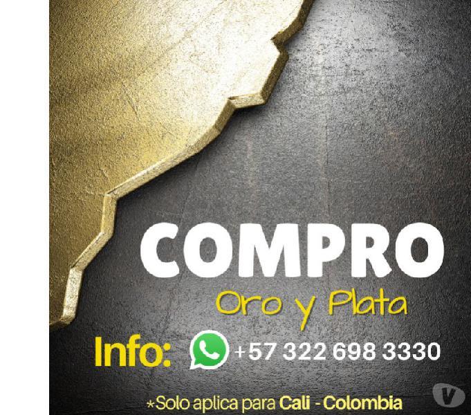 Compramos oro, plata y cobre