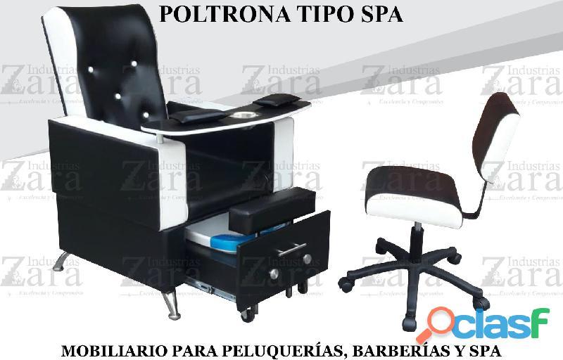 140 EXCLUSIVOS POLTRONA TIPO SPA, RECEPCION, SILLA PARA BARBERIA.
