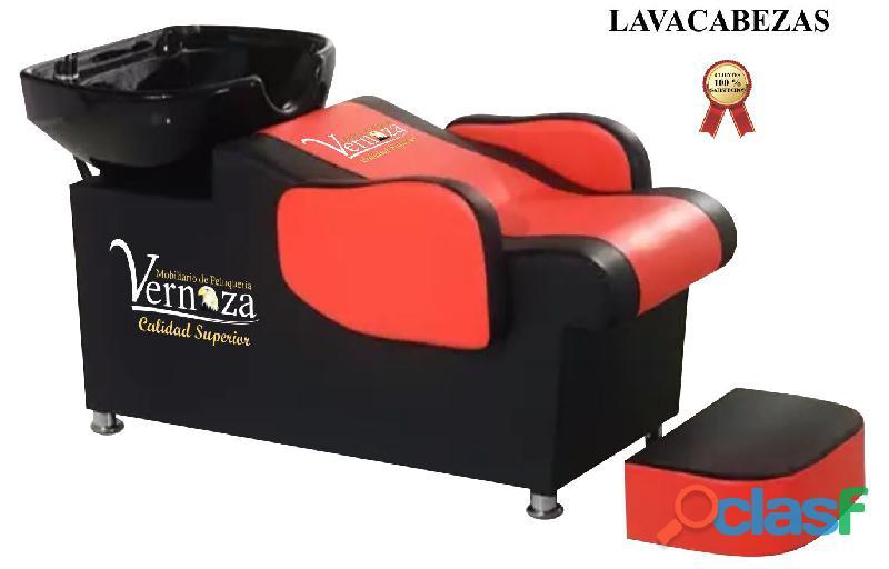 427 bello lavacabezas, camillas, silla de peluquería, mesa manicura, extraordinarios tocador barberí