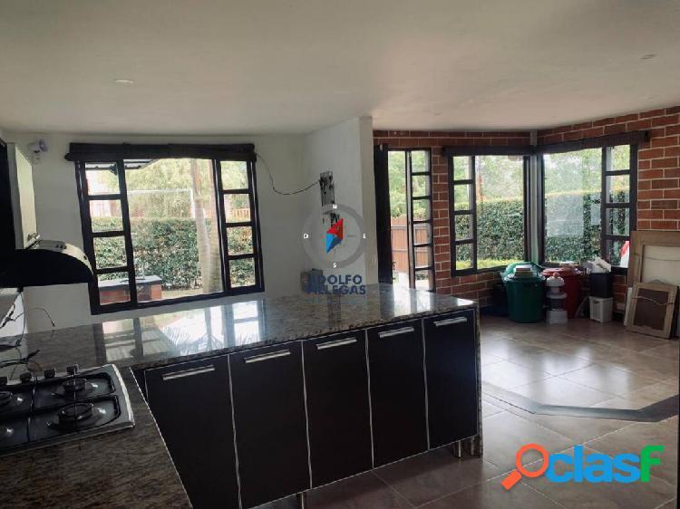 Casa campestre para venta en rionegro 3288