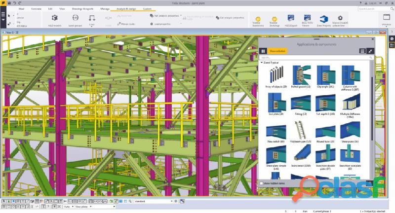 Dibujante tecnico industrial proyectista estructural bim/cad