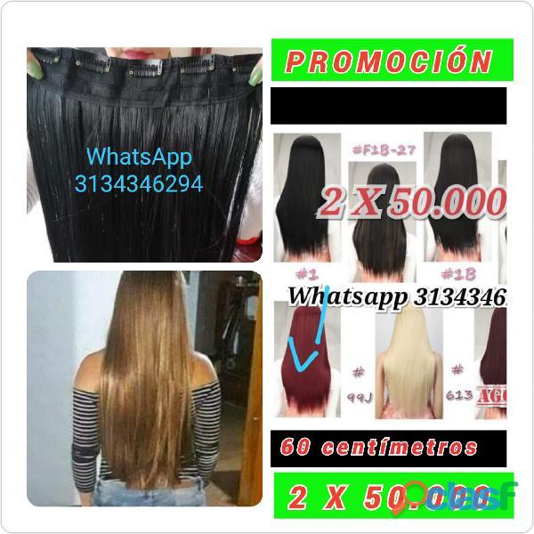 EXTESIONES DE 5 CLIPS WhatsApp 3134346294 HASTA AGOTAR INVETARIO EXTESIONES DE 5 CLIPS