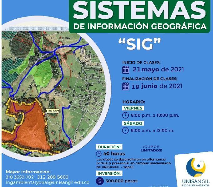 Curso básico en sistemas de información geográfica