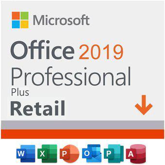 Office professional 2019 plus 1 pc retail