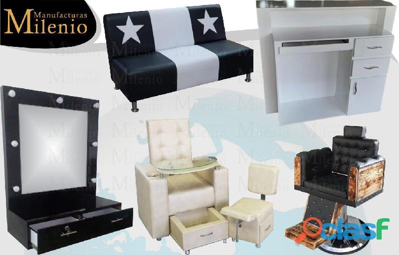 361 fabrica de delicados muebles para peluqueria, lavacabezas, silla de peluqueria, mesa manicura..
