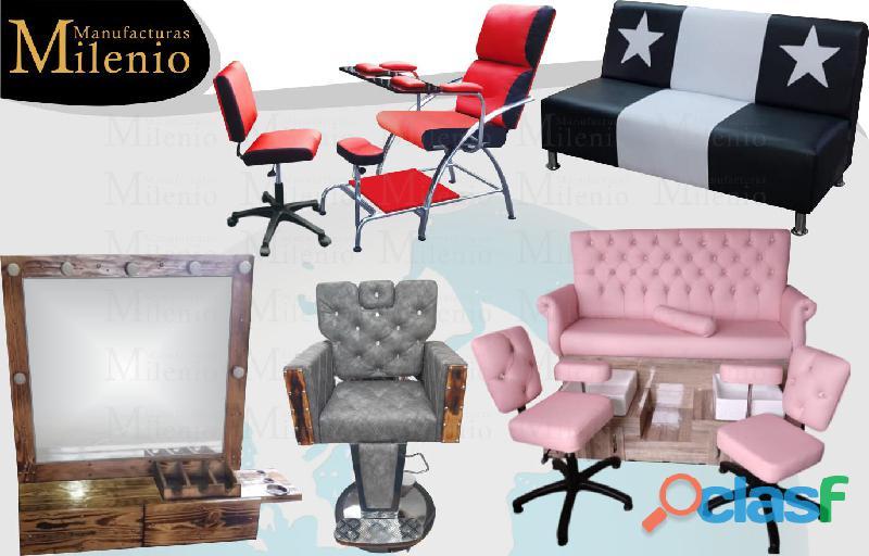 391 sofisticados muebles para peluqueria, lavacabezas, silla de peluqueria, mesa manicura..