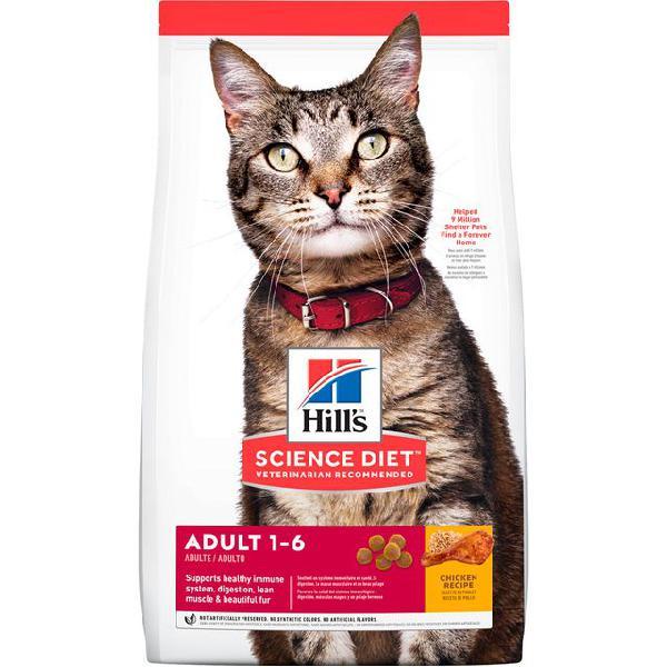 Alimento para gato -hills felino adulto optimal care