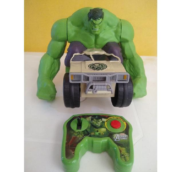 Vehículo de juguete Avengers: XPV Marvel-RC Hulk Smash