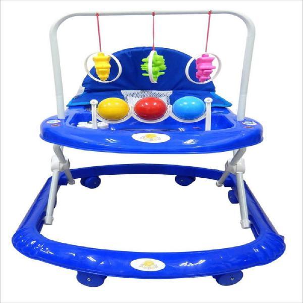 Caminador bebe andadera sonajeros bolas niño azul su