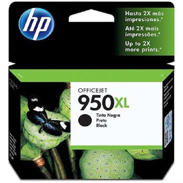 Cartucho de tinta hp 950xl original cn045al-negro