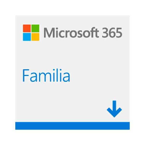 Pin microsoft office 365 familia para 6 usuarios / 12 meses