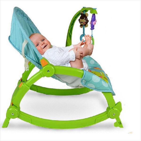 Silla vibradora mecedora bebe crece conmigo 0-4 años