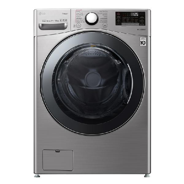 Lavadora secadora lg carga frontal 22 kilogramos wd22vv2s6b