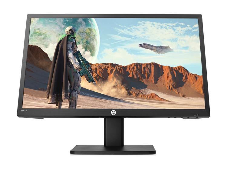 "Monitor HP 22"" Pulgadas Gaming 22x Negro"