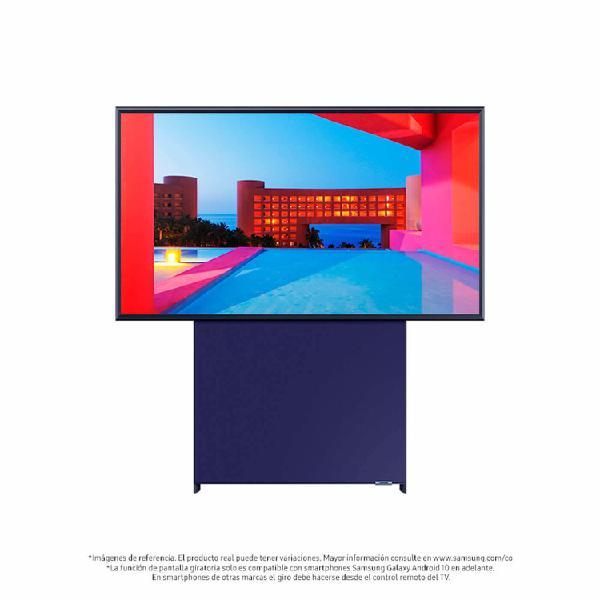 "TV SAMSUNG 43"" Pulgadas 109 Cm 43LS05T The Sero QLED UHD 4K"