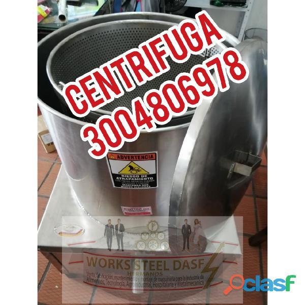 centrifuga de miel