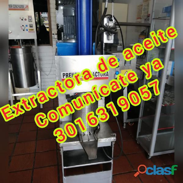 PRENSA EXTRACTORA CACAO COLOMBIA