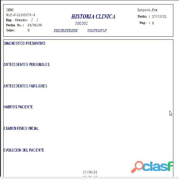 Sistema Control Consultorio Médico 12