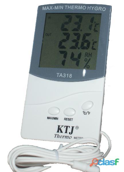 Termohigrómetro Con Sonda Ktj Con Certificado De Calibración