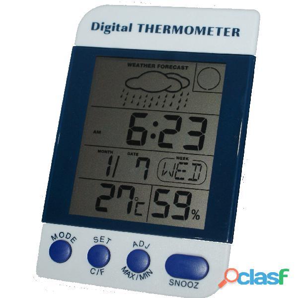 Termohigrómetro Digital Kex Con Certificado De Calibración.