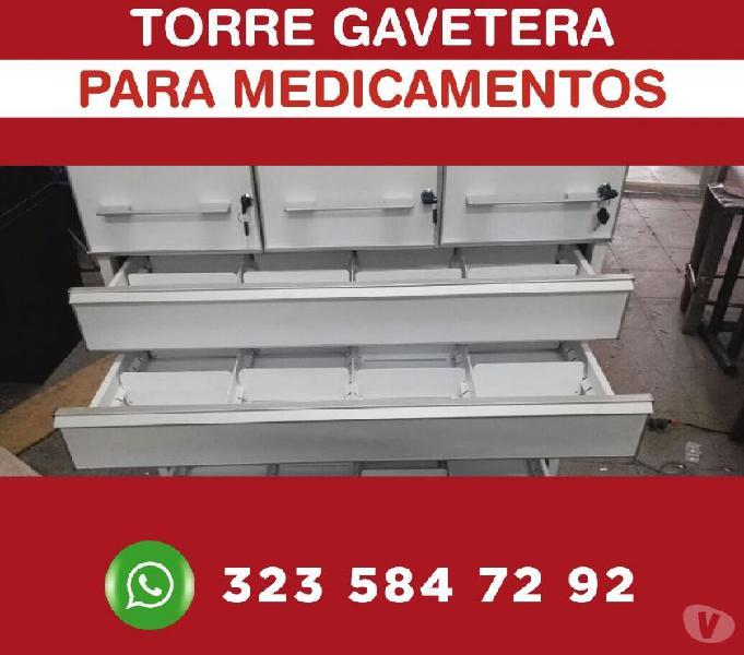 Gaveeteros almacenamiento prodcutos bodegaje