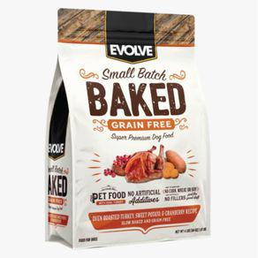 Alimento perro evolve grain free oven baked pavo 4.98kg