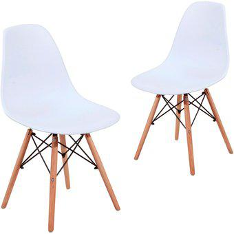 Setx2 silla eames blanca
