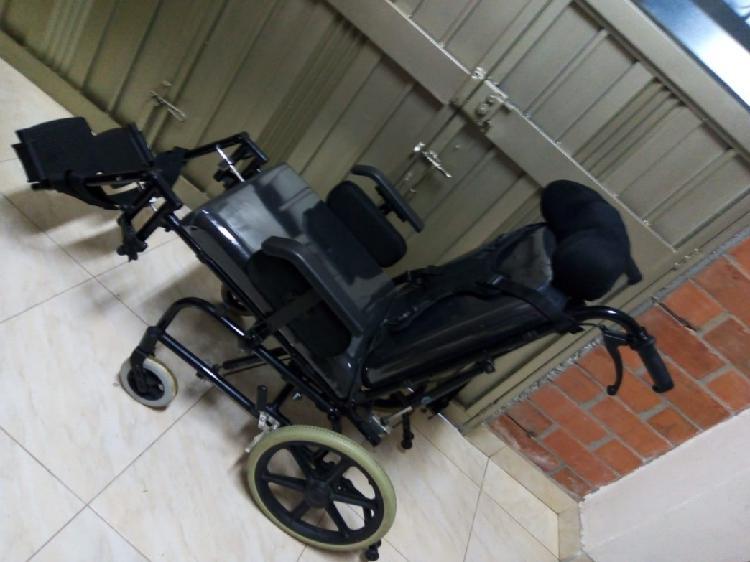 Silla de ruedas hidráulica neurológica