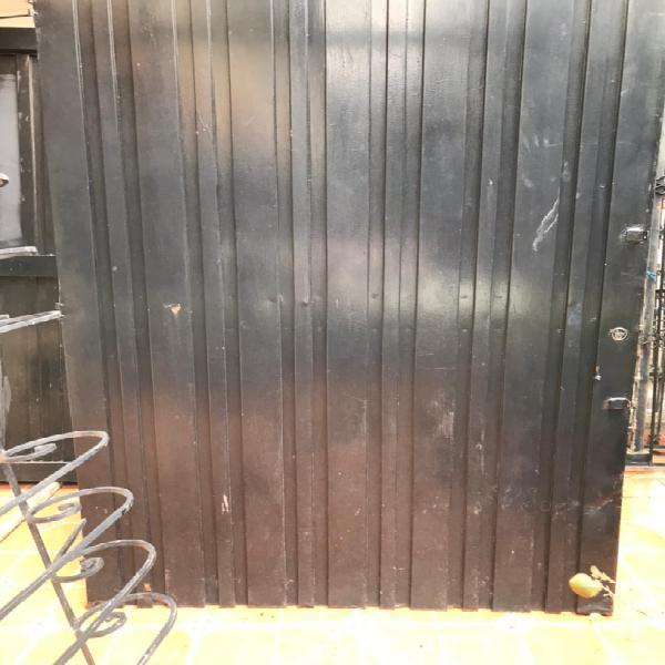 Vendo puerta para garage