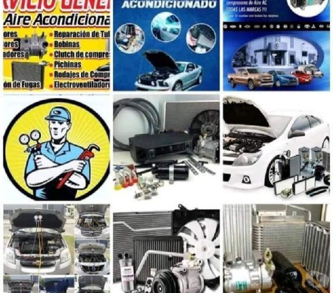 Servicio de aire acondicionado automotriz