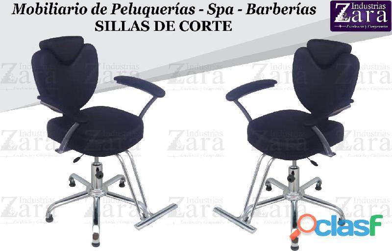 227 ENCANTADORA SILLA DE BARBERIA, POLTRONA PEDICURE, RECEPCION...