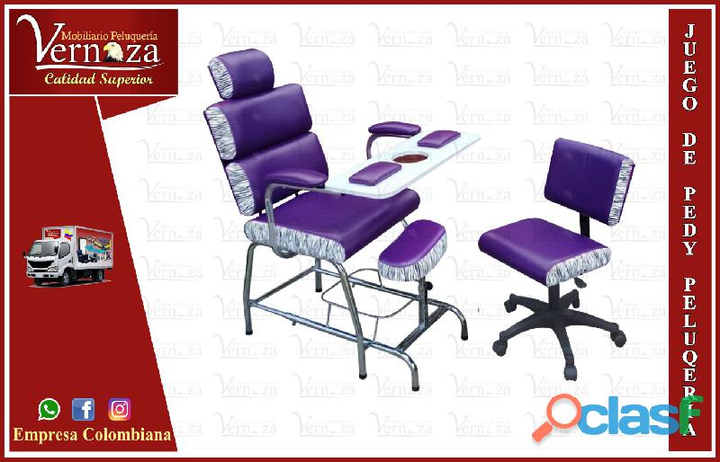 422espontanea sillas para manicure, silla barbería, lavacabezas, maravillosas poltrona pedicure, cam