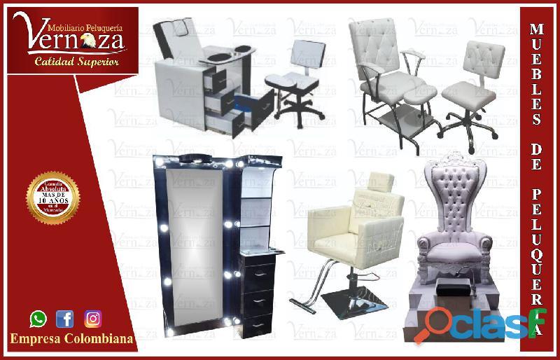 430resistente muebles de peluquería, barbería, estética, spa, lindas camillas, mesa manicura, lavaca