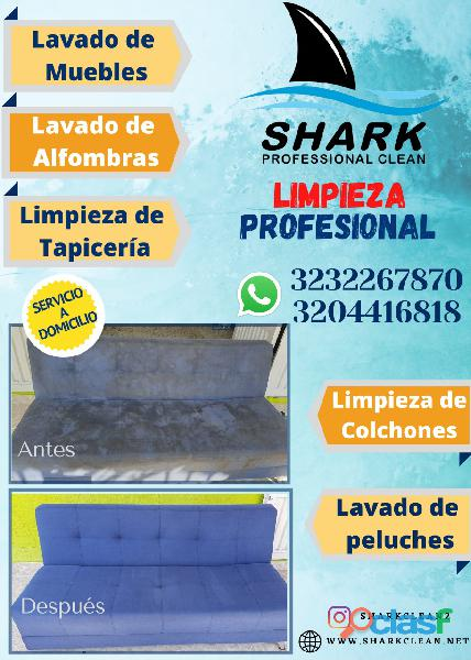 Lavado muebles, colchones, alfombras shark clean neiva