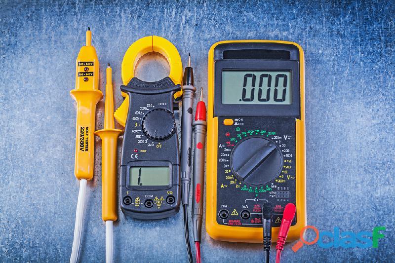 arreglo y reparacion multimetros,pinzas amperimetricas e inversores de voltaje