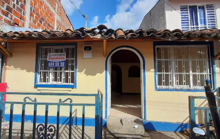 Arrienda casa barrio bosques de maracaibo manzana 41 casa 9