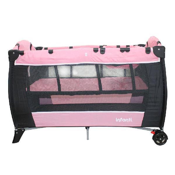 Corral con cambiador gama pink infanti jbp701c - compra