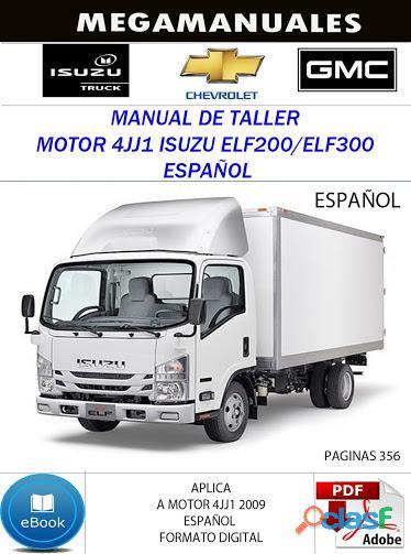 Manual de taller motor 4jj1 isuzu elf200/elf300 español