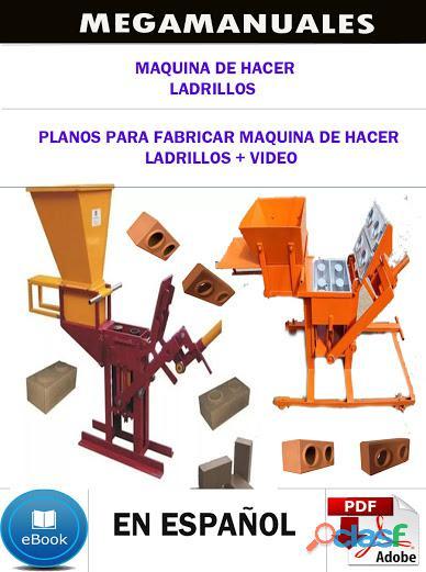 Planos para fabricar maquina de hacer ladrillos