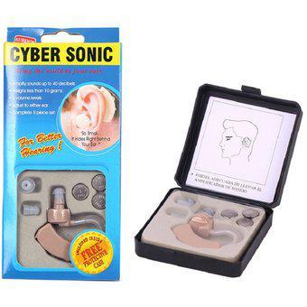 Audifono cyber sonic amplificador sonido ayuda sordos