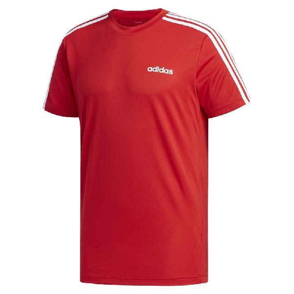 Camiseta adidas designed 2 move 3 rayas