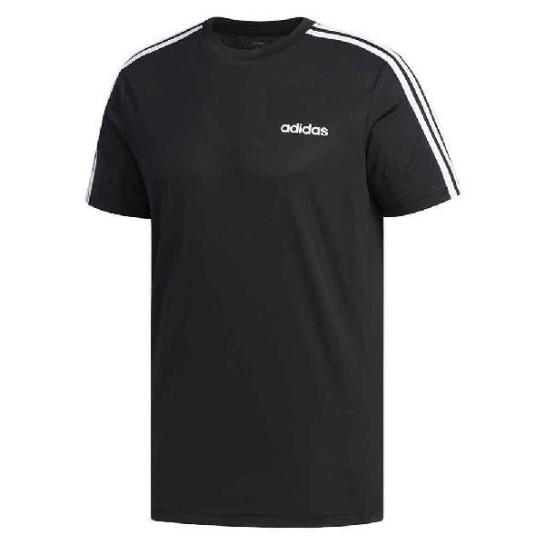 Camiseta adidas designed 2 move 3 rayas hombre