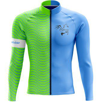 Jersey ciclismo hombre mtb camisa / buso - salvaje - ropa