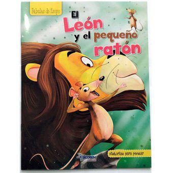 Libro infantil para pensar sicoben- el león y el pequeño