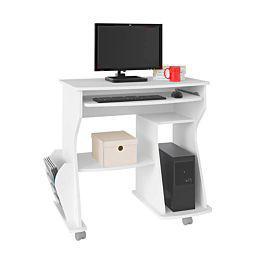 Mesa para computadora 160 / blanco - bertolini